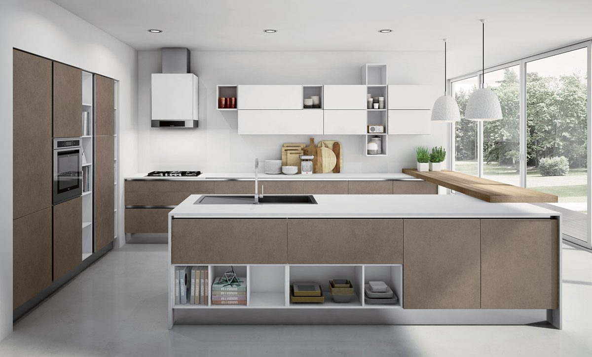 Cucine a Vista per case moderne