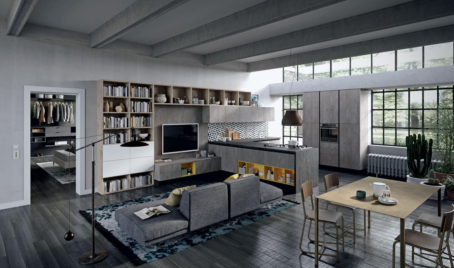 Man casa arredo casa roma mobili salvaspazio for Arredamento marino per casa