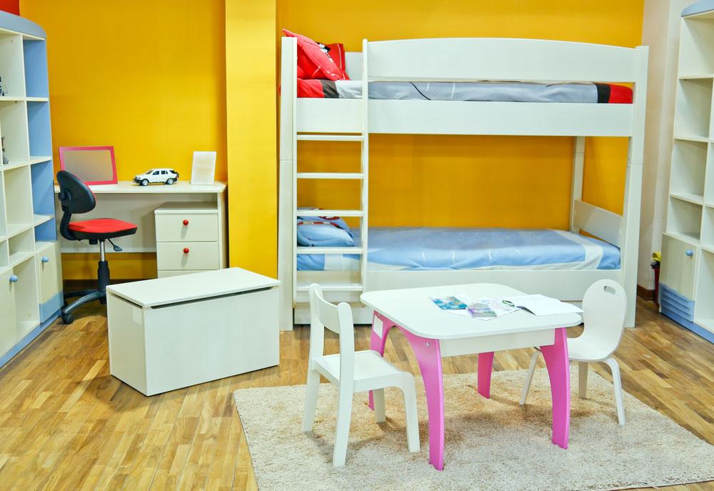 Come arredare una cameretta per bambini soluzioni salvaspazio ideali - Cameretta x bambini ...