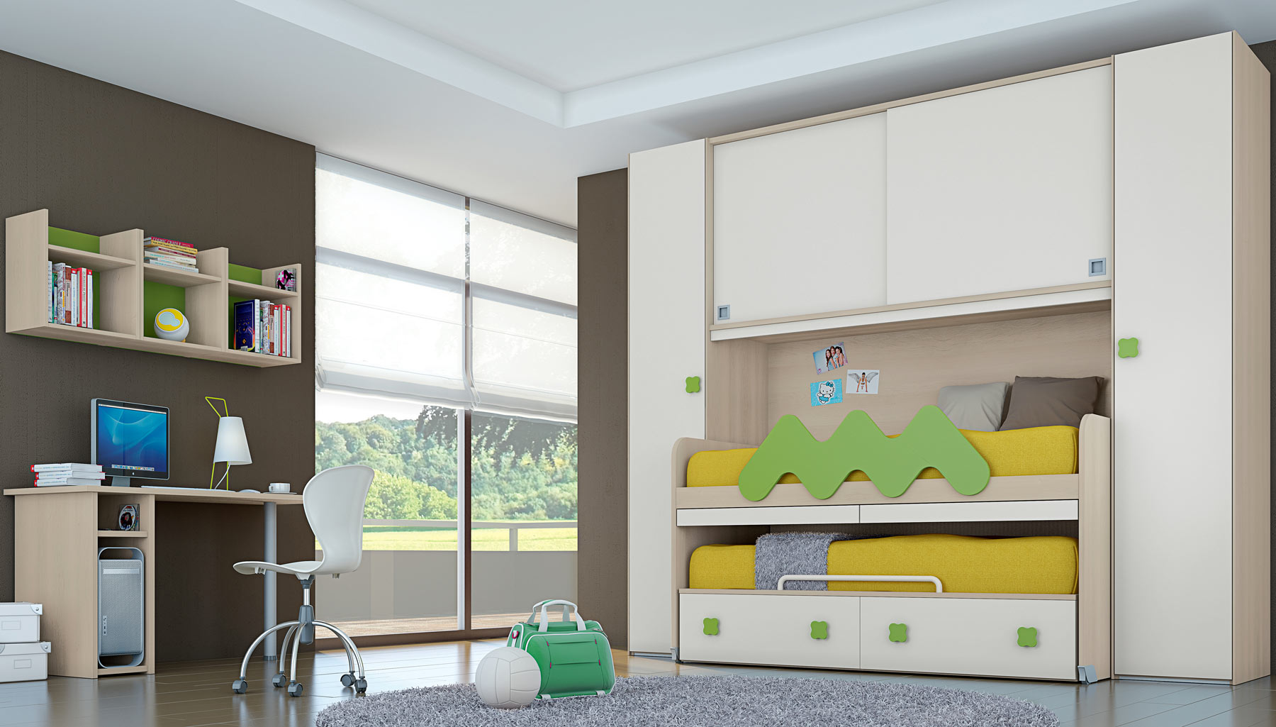 Come arredare una cameretta per bambini soluzioni - Idee per pitturare una cameretta ...