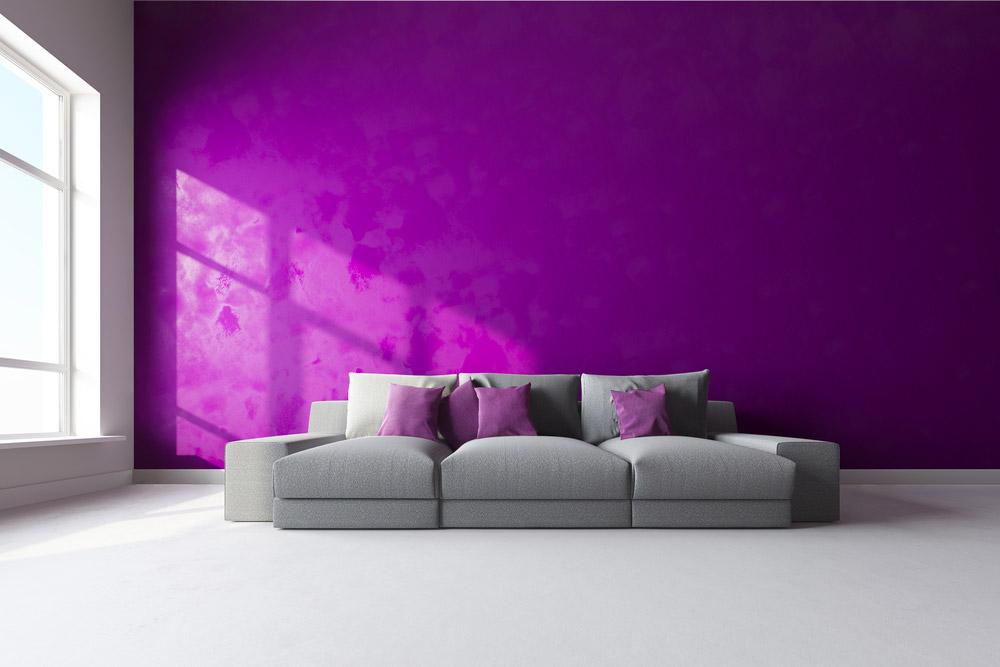 Pareti Viola E Verde : Come scegliere e abbinare i colori di casa