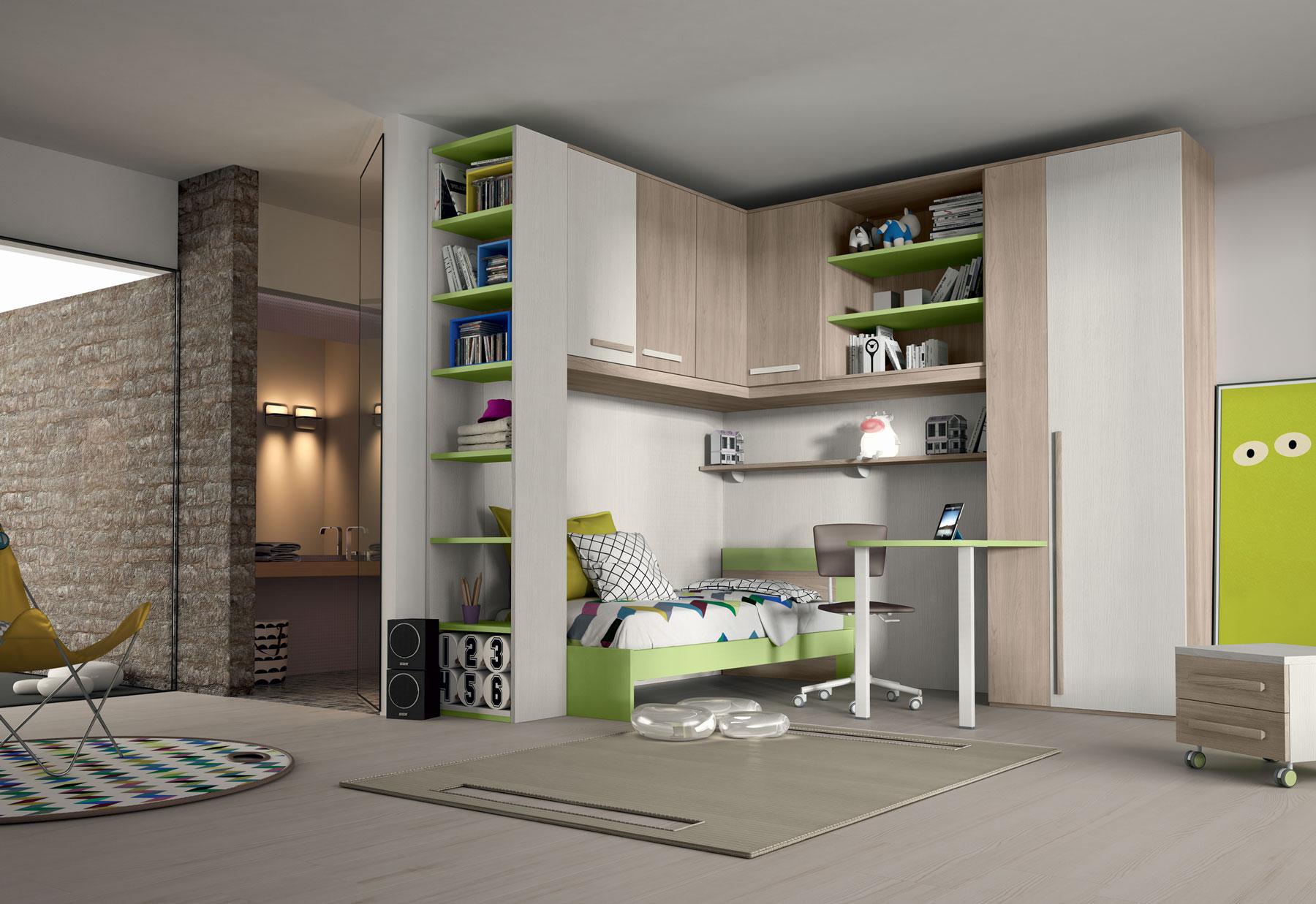 Camerette man casa for Camere per bambini design