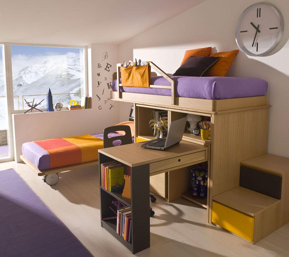 Perfect il letto scorrevole una delle soluzioni for Decorare la stanza con foto