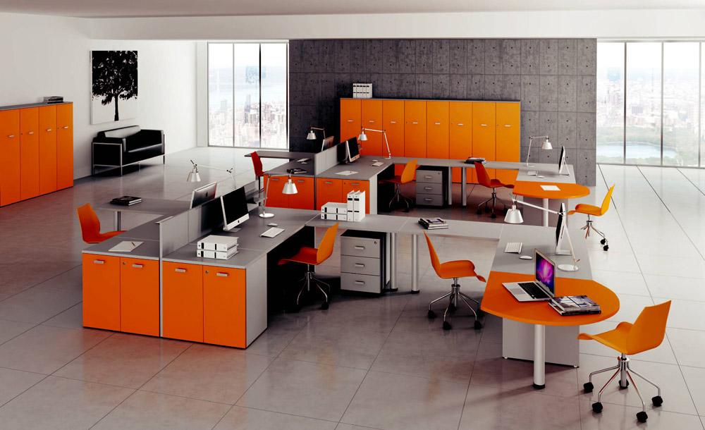 arredare-ufficio-colori-arancio