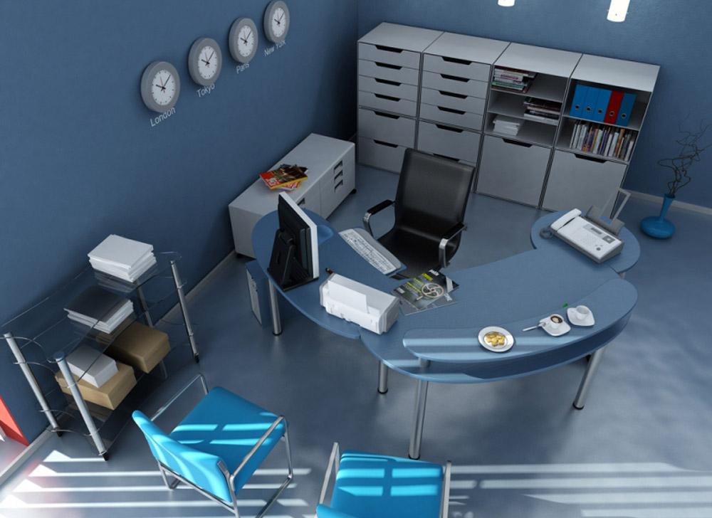 Le 4 mosse per arredare un ufficio e lavorare bene - Colori per pareti ufficio ...