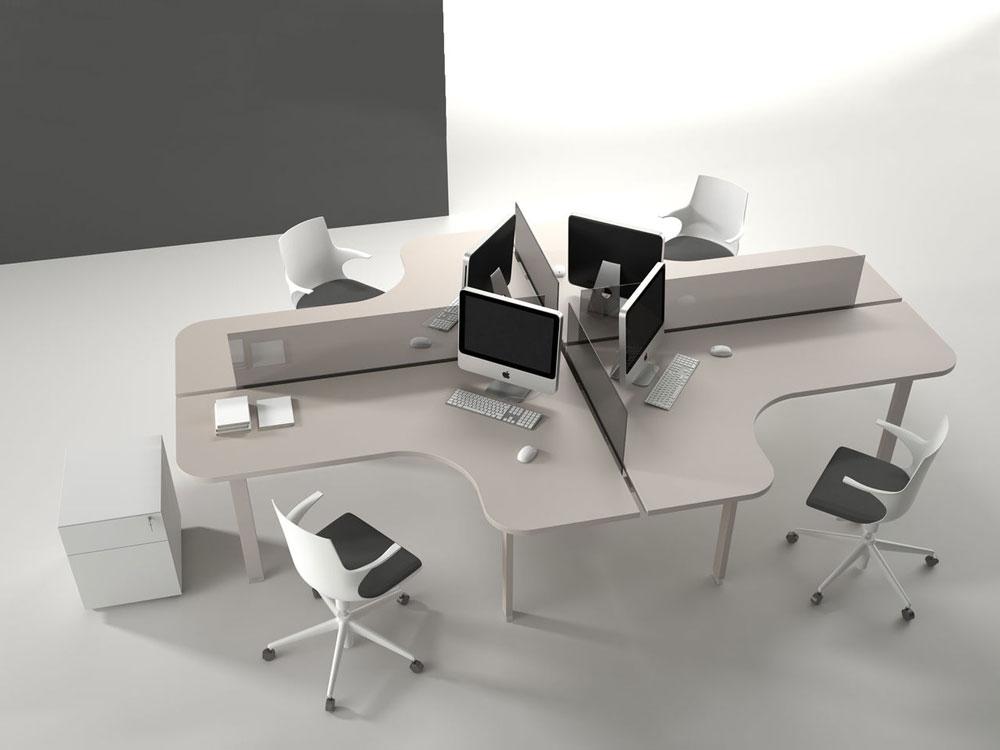 Le 4 mosse per arredare un ufficio e lavorare bene for Scrivania arredo