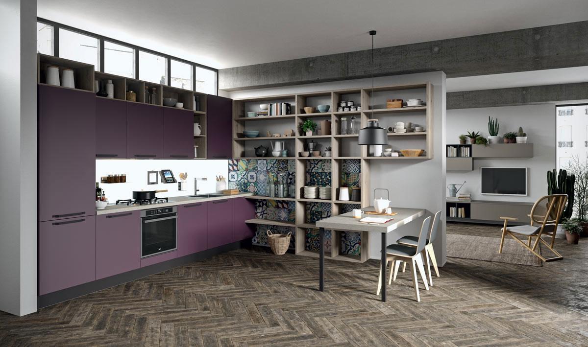 Idee e consigli per scegliere e arredare la tua cucina - Come abbinare cucina e pavimento ...