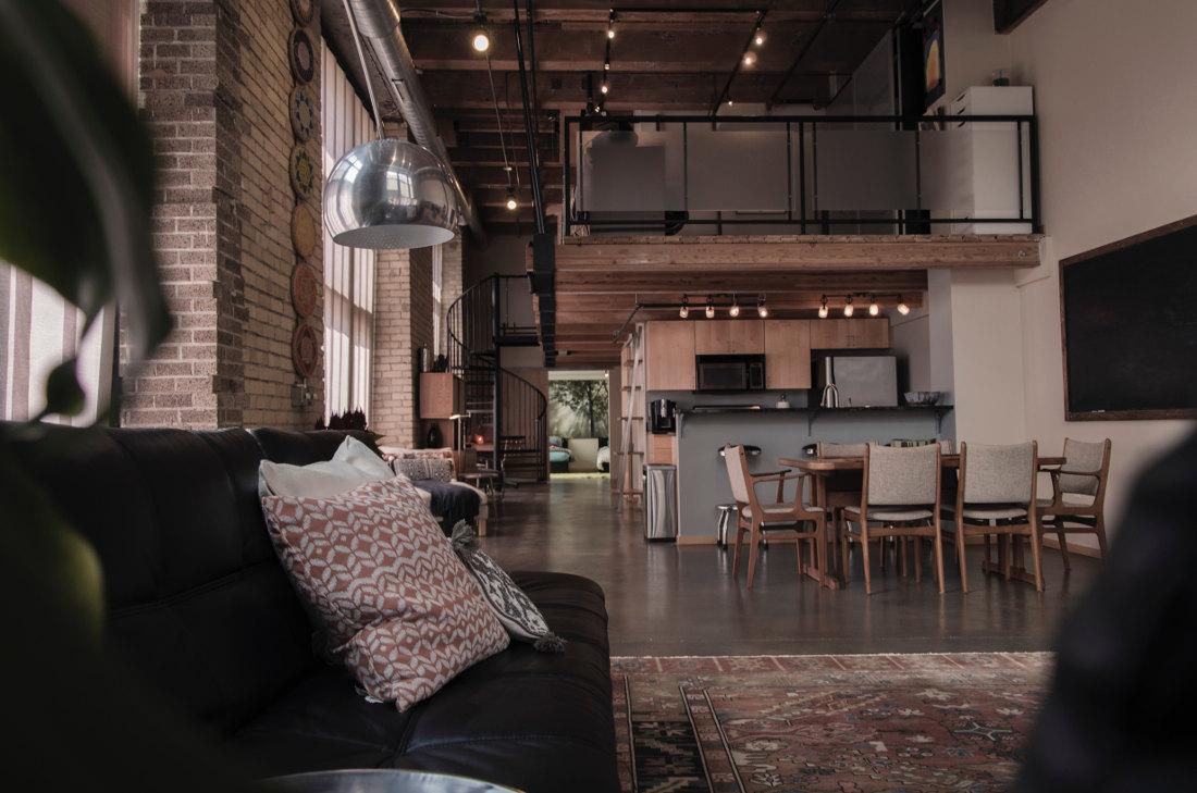 Idee e consigli per arredare un loft o un open space for Lo space senza pareti