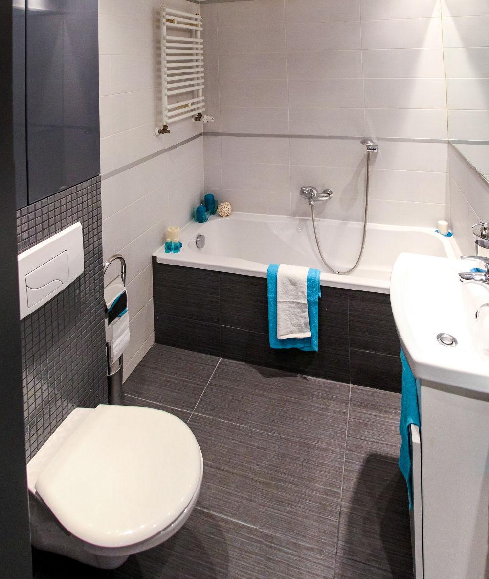 Come arredare un bagno piccolo senza sacrificare il design for Arredare senza confini