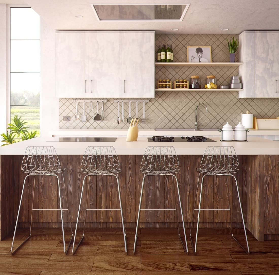 Come arredare una cucina e un soggiorno open space