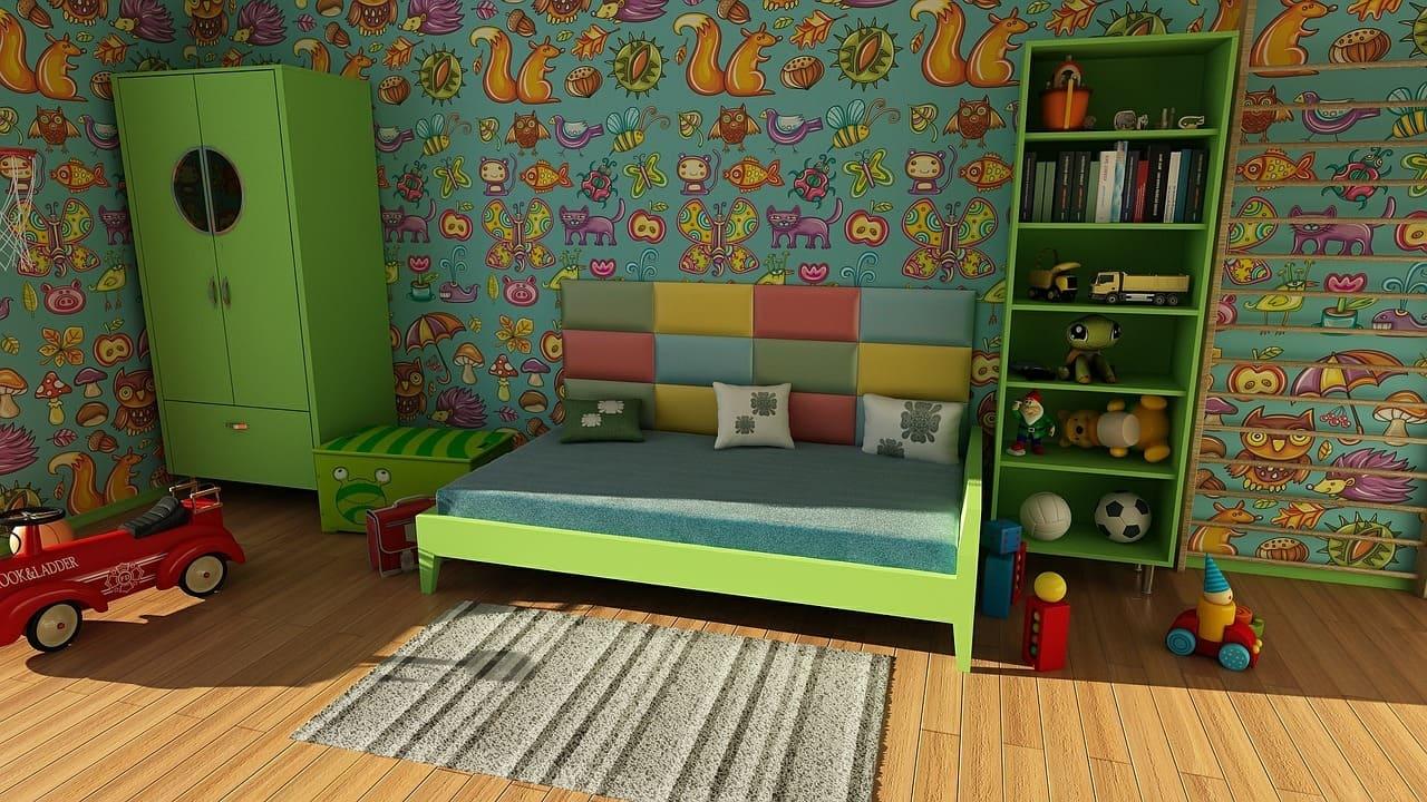 Come decorare le pareti per la camera dei bambini