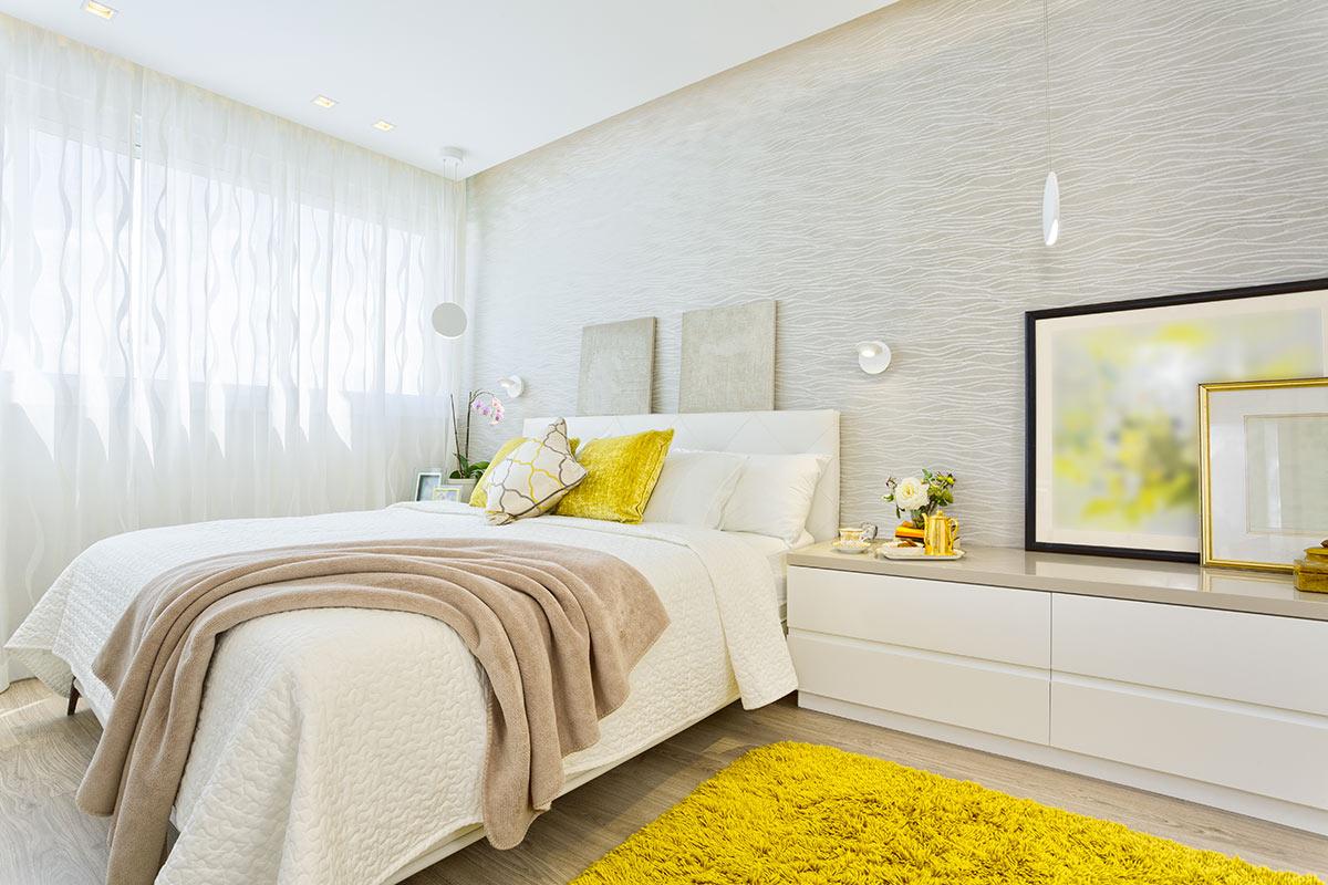 colori di una camera da letto moderna