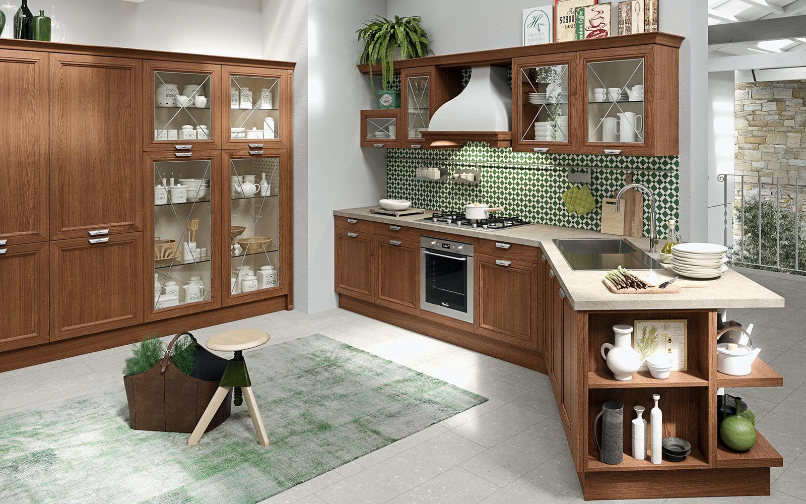 arredo-cucina-piccola-quadrata | MAN Casa