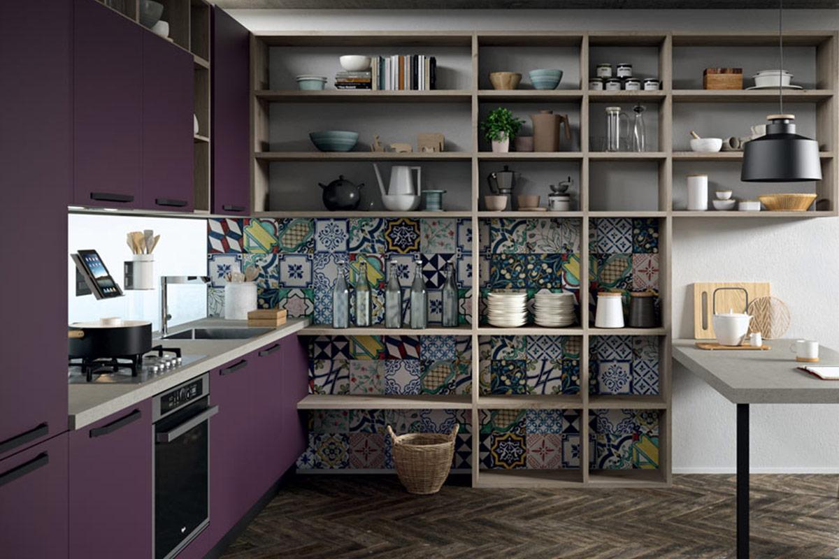 arredo-cucina-piccola-quadrata-colori