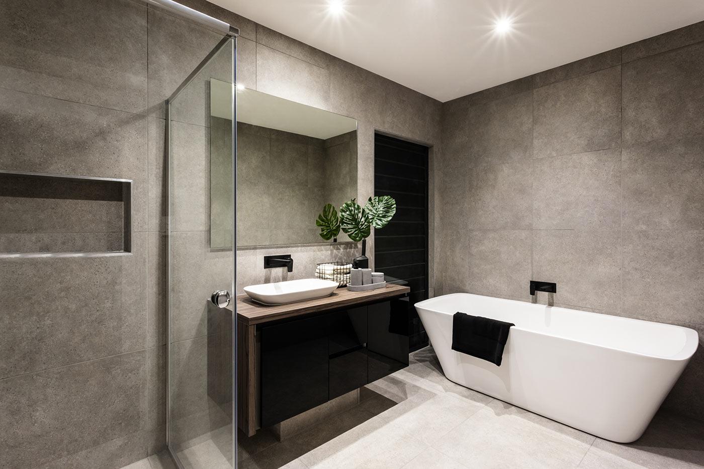 Idee Per Arredare Bagno idee di arredo per un bagno in stile moderno | man casa