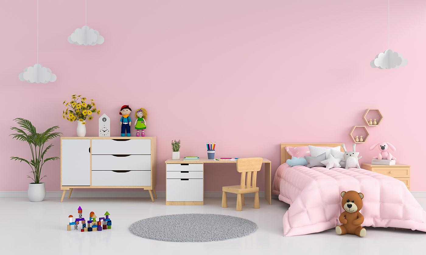 Colori Da Parete Per Camerette quali sono i colori adatti per la cameretta dei bambini