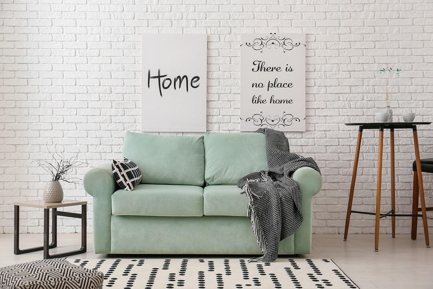 scegliere un divano per una casa piccola