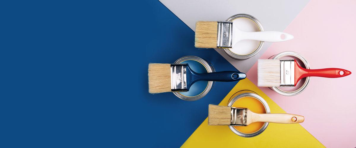 I colori giusti per pitturare casa: guida agli abbinamenti