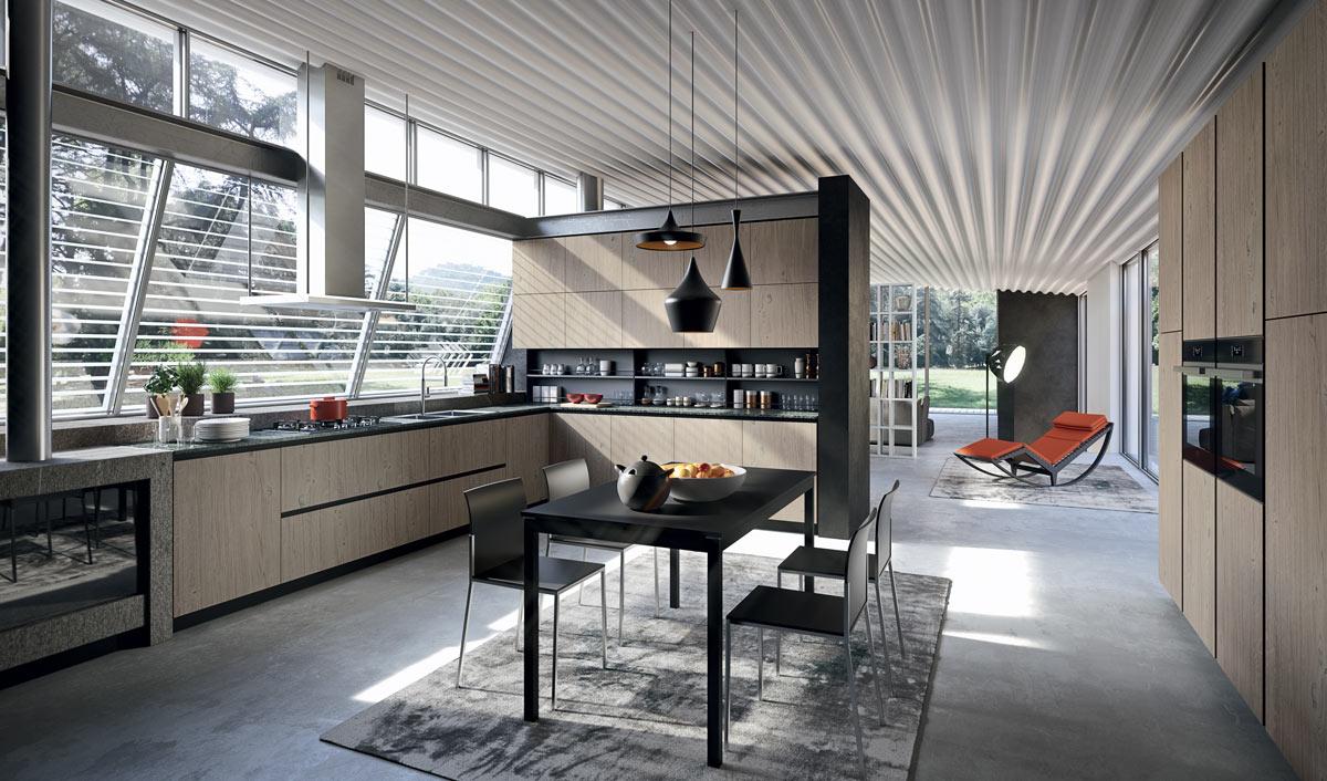 Arredare cucina e soggiorno in un ambiente unico ...