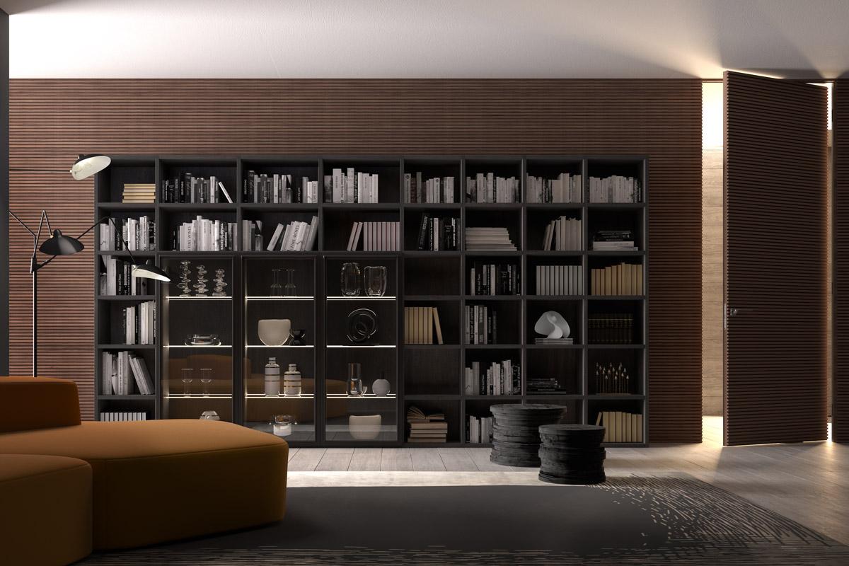 Librerie Moderne per Soggiorno