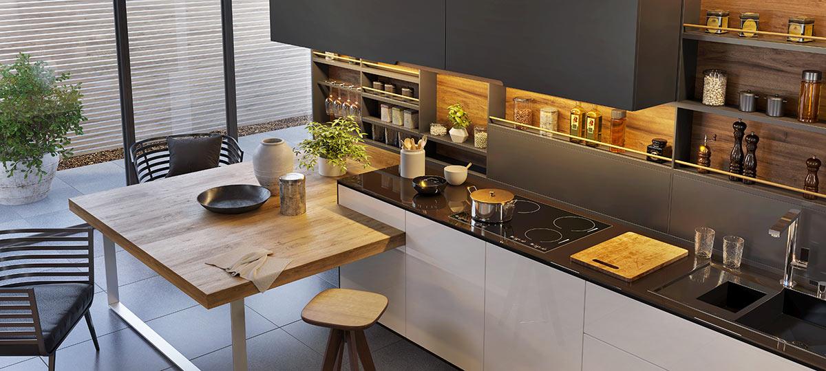 Gli errori da non fare nell'arredare una cucina