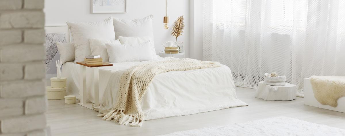 Consigli arredo camera da letto bianca