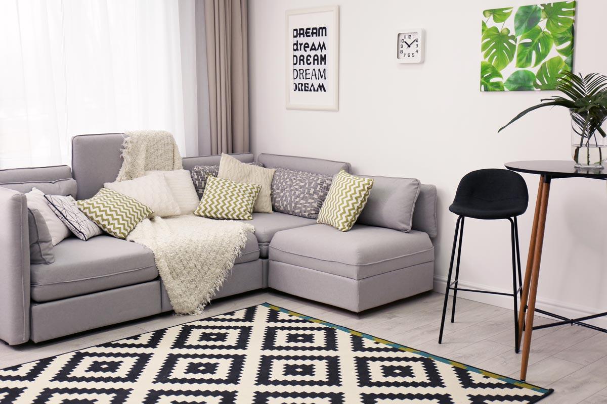 quale divano per il salotto ad angolo