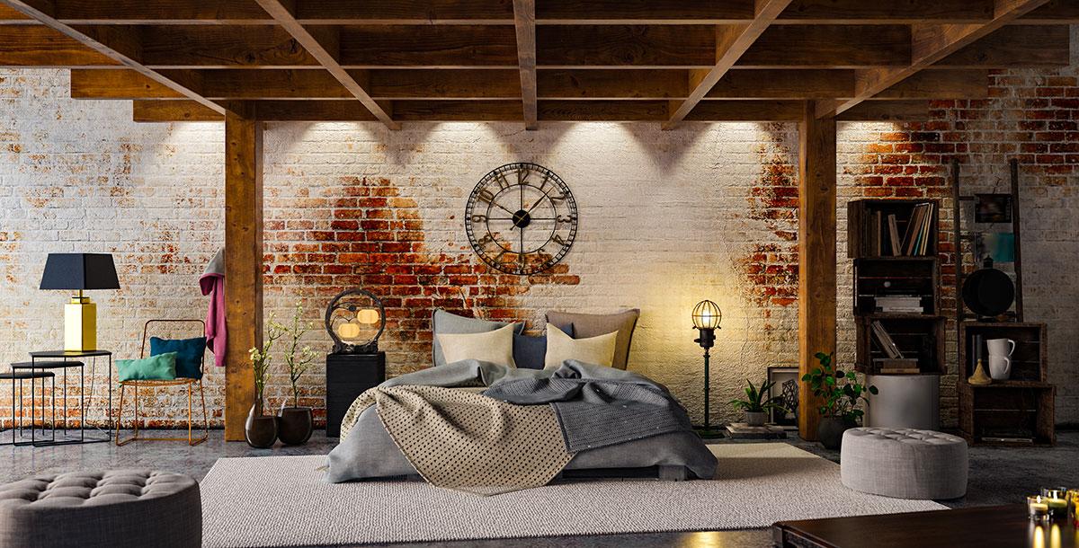 Camera da letto spaziosa: come arredarla