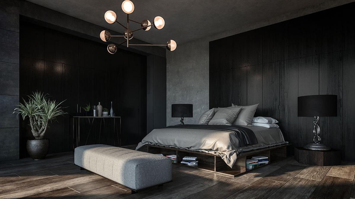 spazio minimo camera da letto