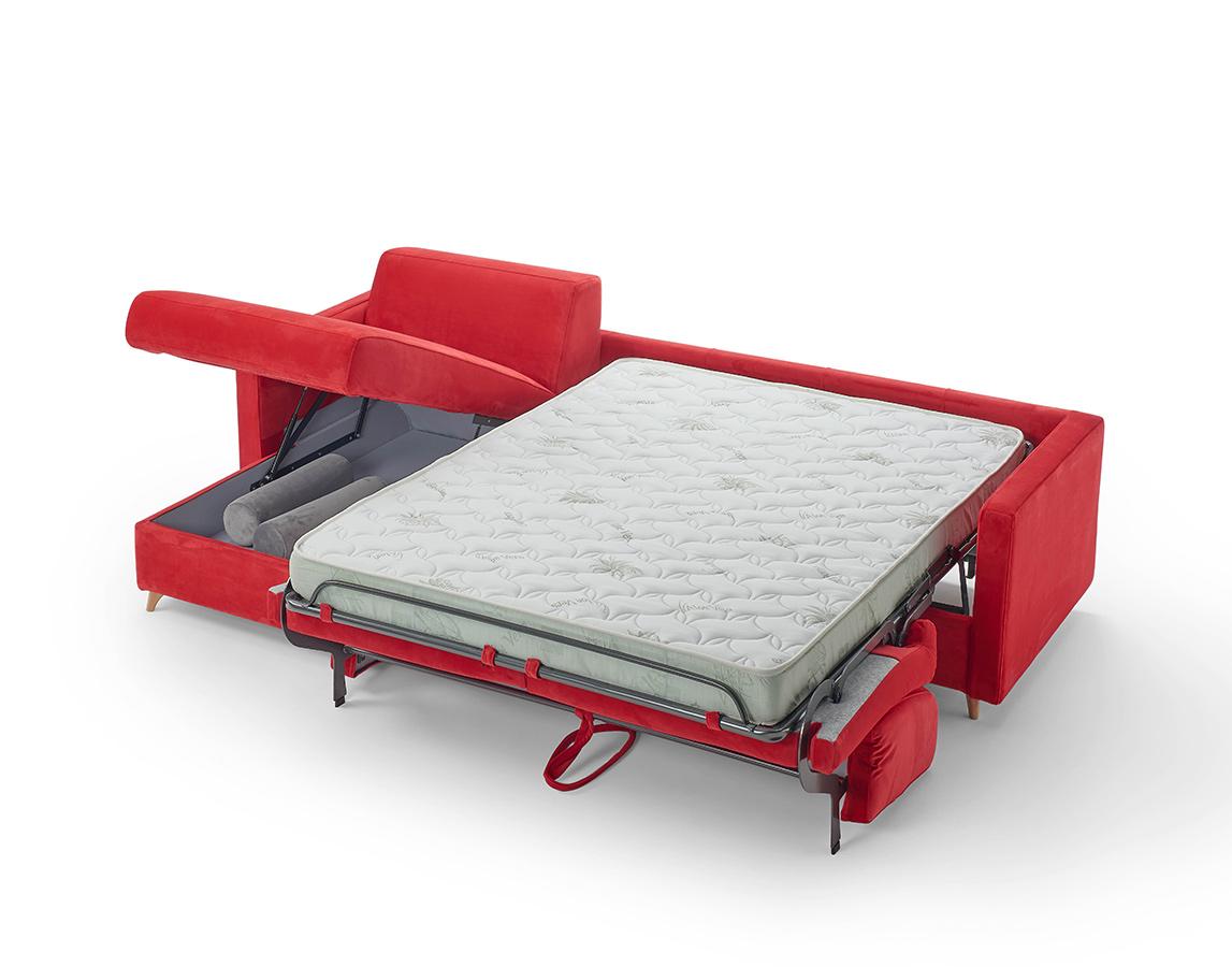divano letto con contenitore